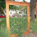 Trellis for Ivy or Fabric